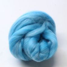 500g Pack of Tonal Aquas 23 Micron Merino Wool Tops